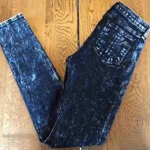 Rag & Bone - Acid wash skinny jeans